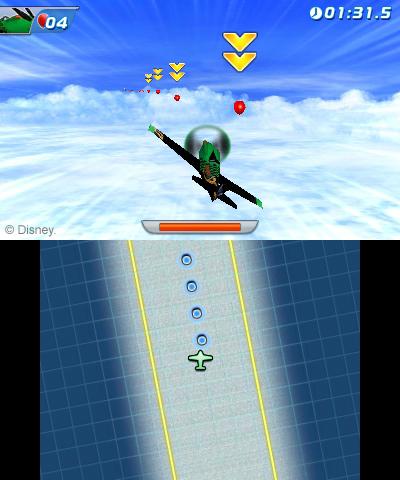 Arkádová hra s letadýlky od Disney pro Nintendo 79512