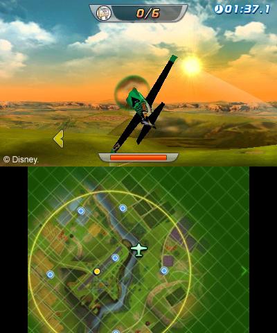 Arkádová hra s letadýlky od Disney pro Nintendo 79513