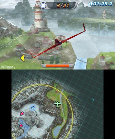 Arkádová hra s letadýlky od Disney pro Nintendo 79515