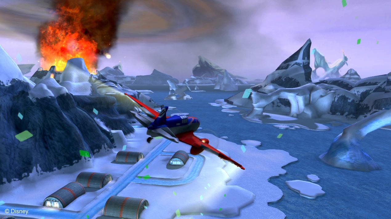 Arkádová hra s letadýlky od Disney pro Nintendo 79516