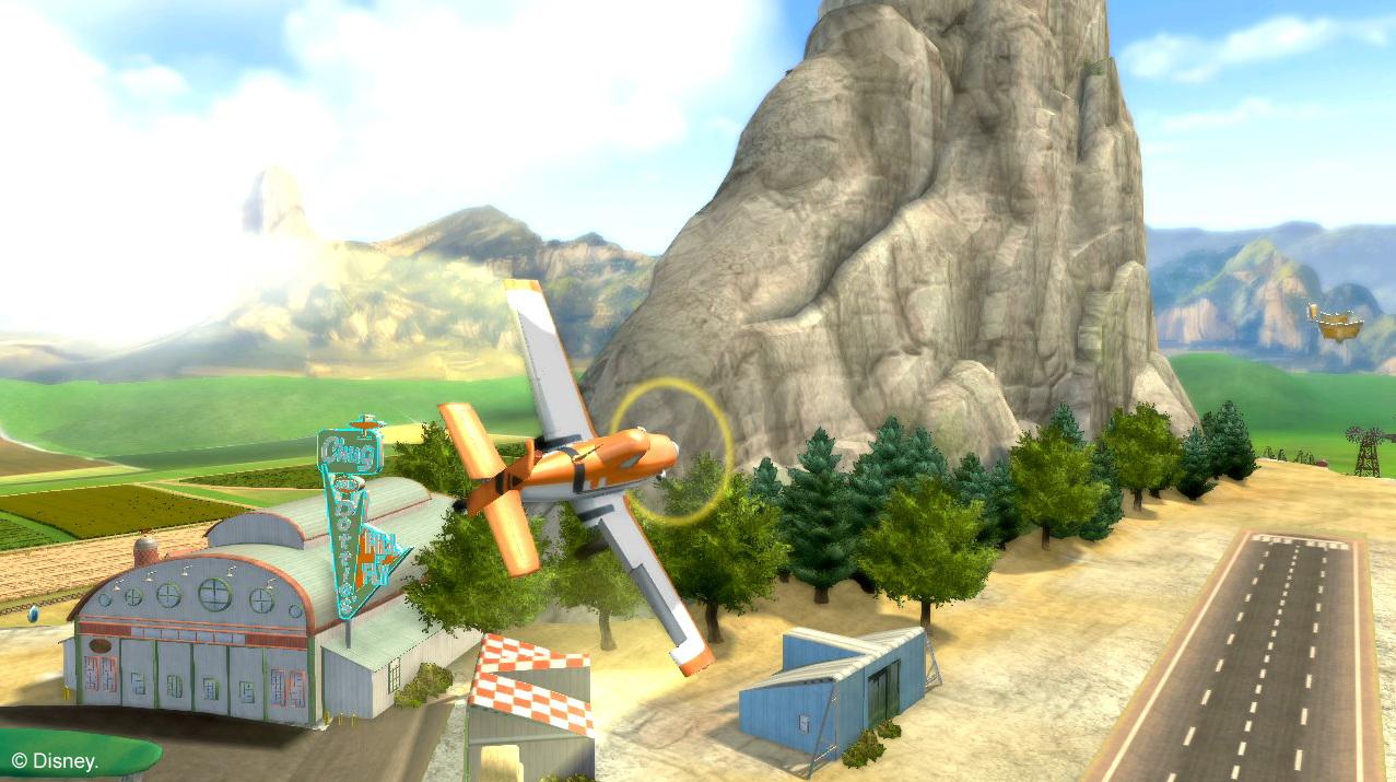 Arkádová hra s letadýlky od Disney pro Nintendo 79517