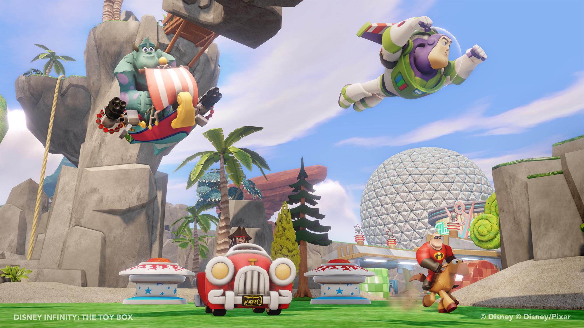 Ukázka z Toy Box modu pro Disney Infinity 79557