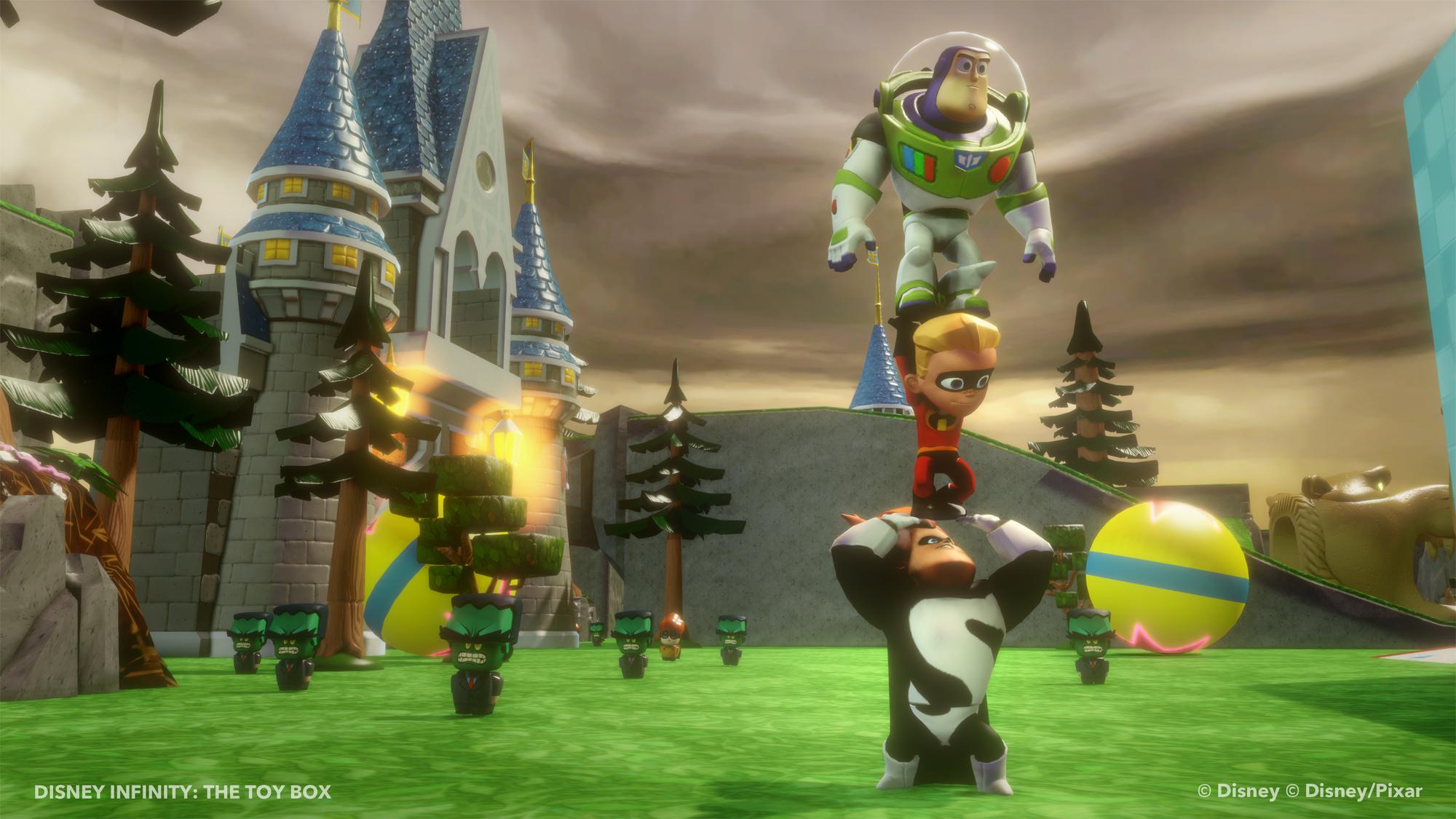 Ukázka z Toy Box modu pro Disney Infinity 79561