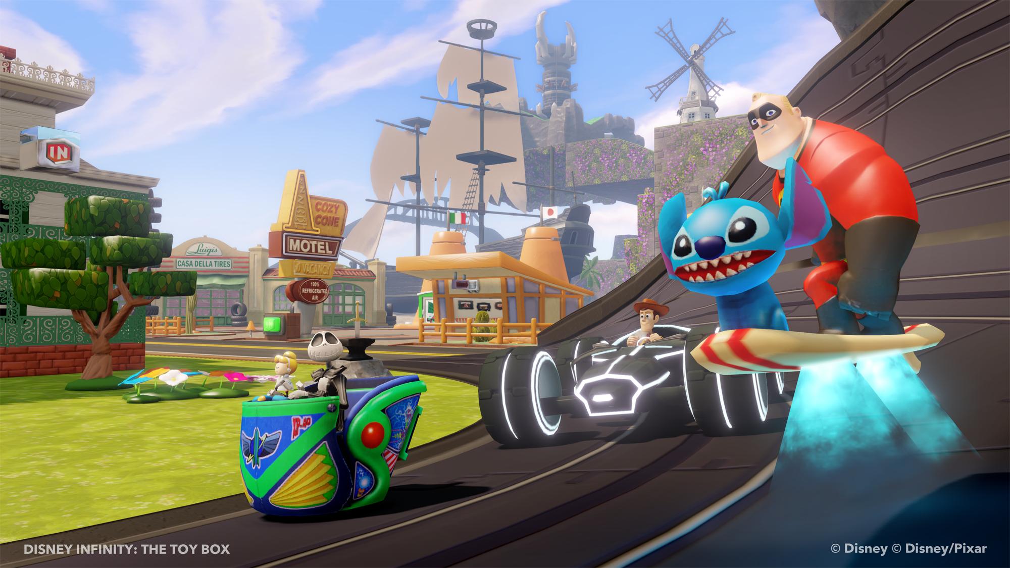 Ukázka z Toy Box modu pro Disney Infinity 79563