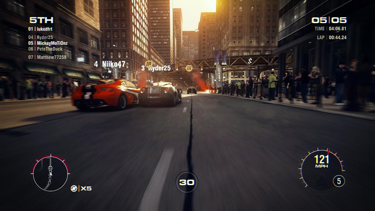Detaily o multiplayeru v závodech GRID 2 79583