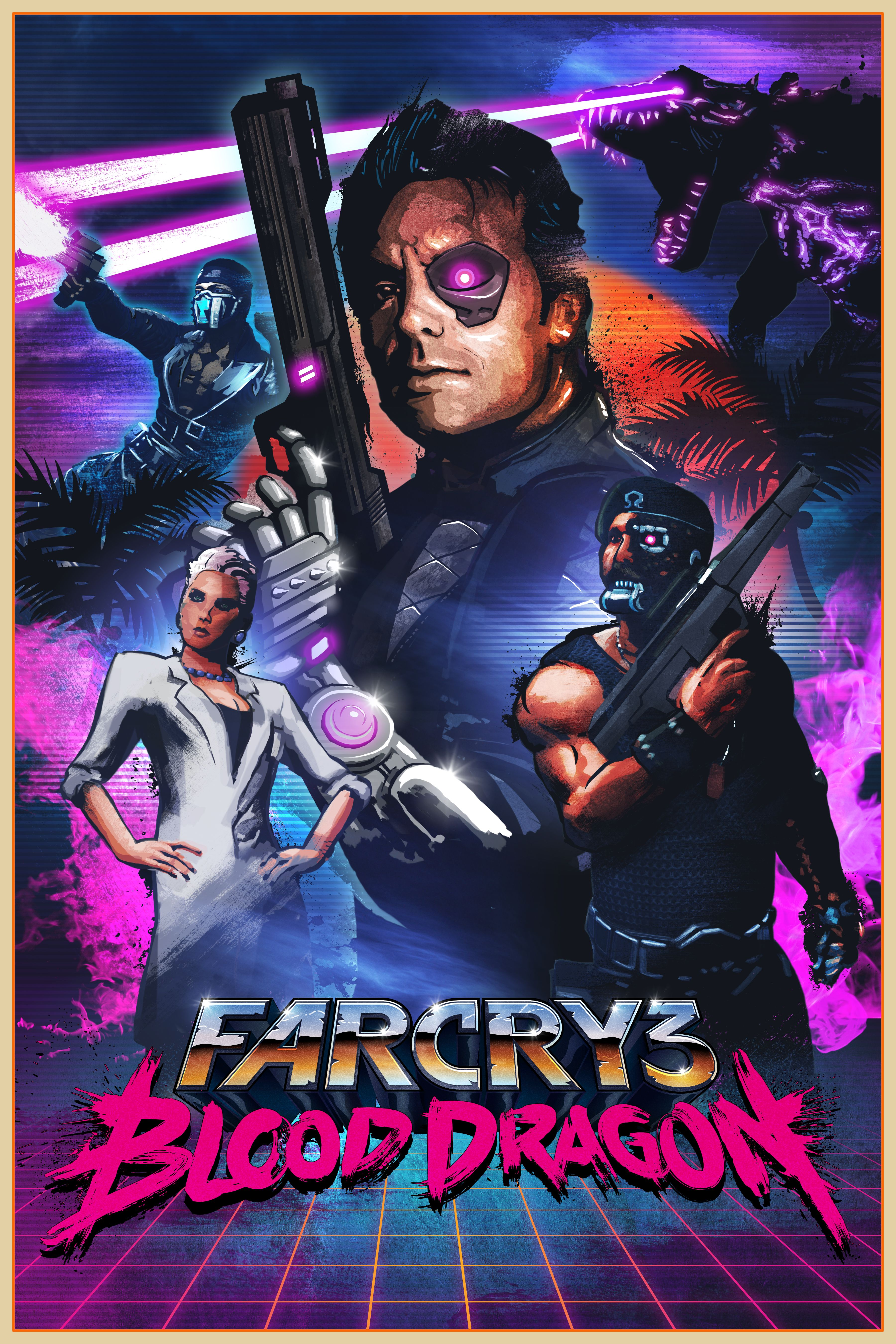 Far Cry 3: Blood Dragon ve stylovém cover artu 79591