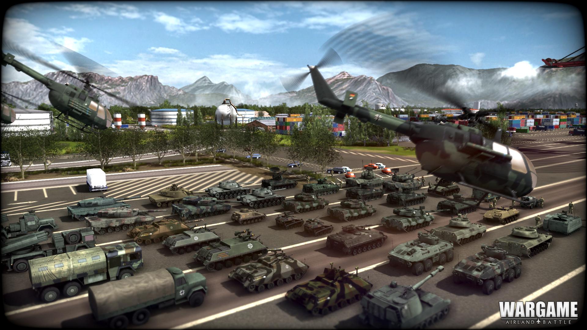 Německé jednotky na obrázcích z Wargame: Airland Battle 79856