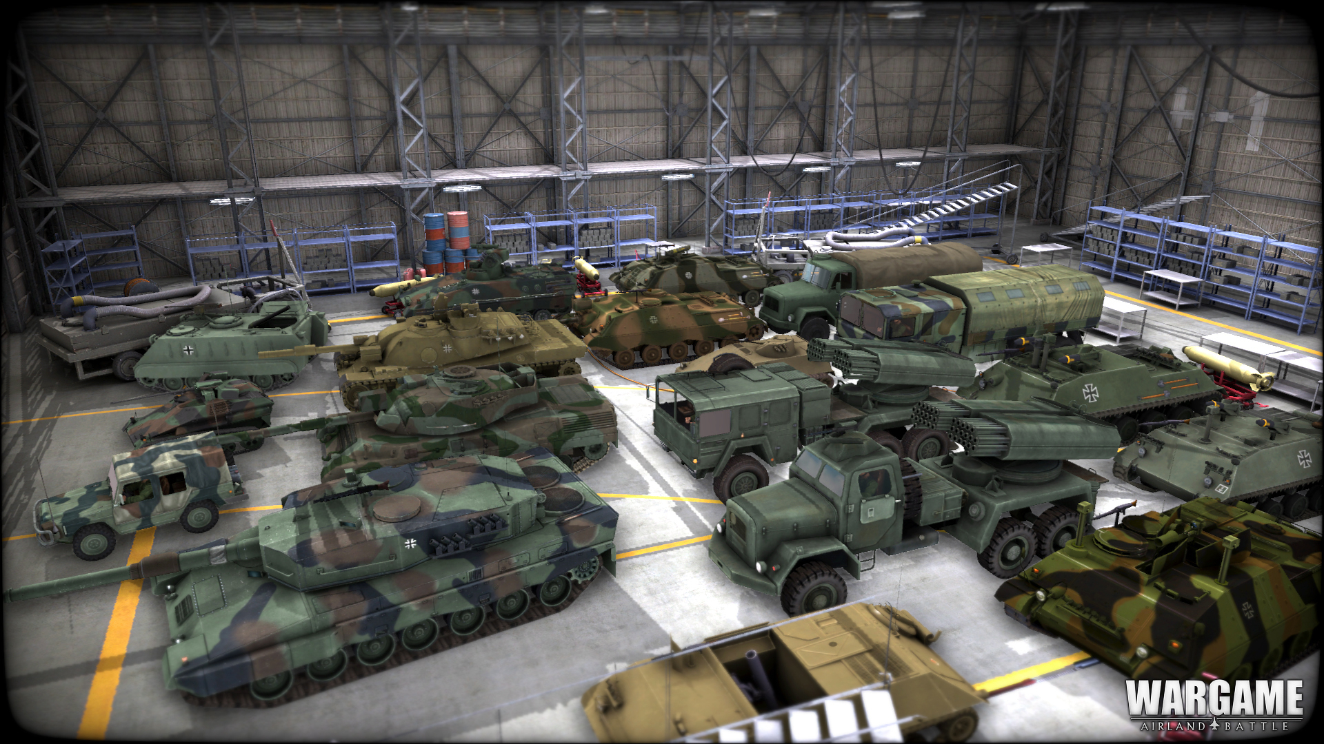 Německé jednotky na obrázcích z Wargame: Airland Battle 79857