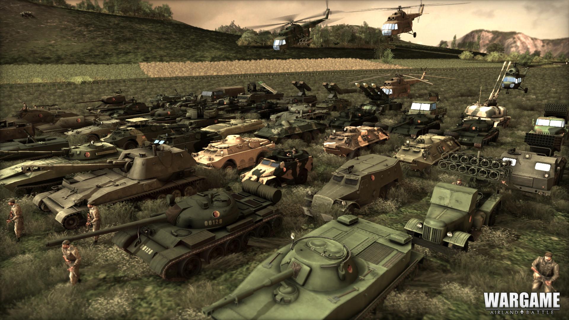 Německé jednotky na obrázcích z Wargame: Airland Battle 79860