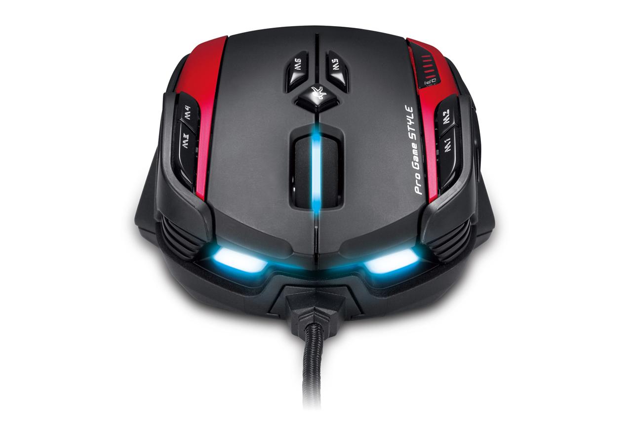 GX Gaming Gila – profesionální herní myš se škorpionem 79881