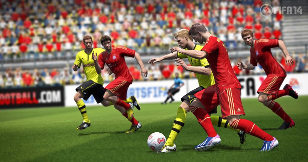 FIFA 14: Pure Shot a reálná fyzika míče 79994