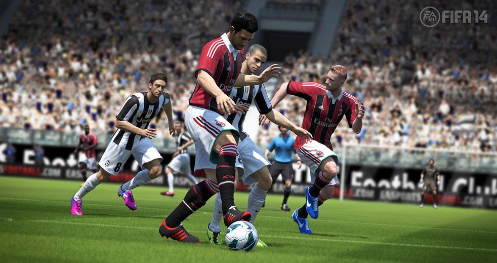 FIFA 14: Pure Shot a reálná fyzika míče 79997