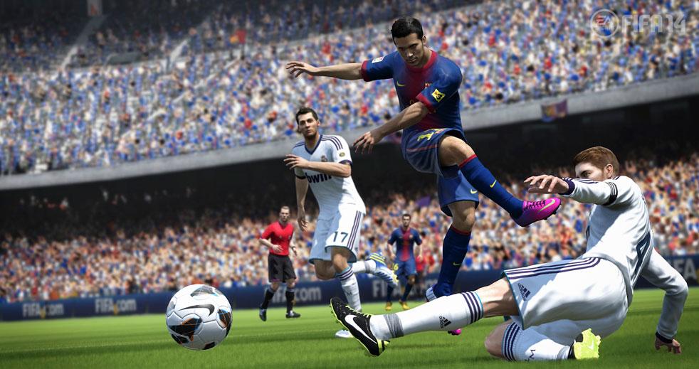 FIFA 14: Pure Shot a reálná fyzika míče 79999