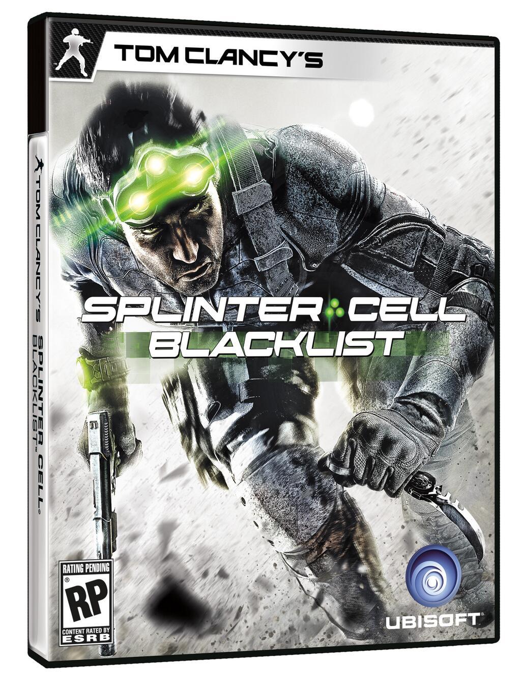Splinter Cell: Blacklist odhaluje obal 80152