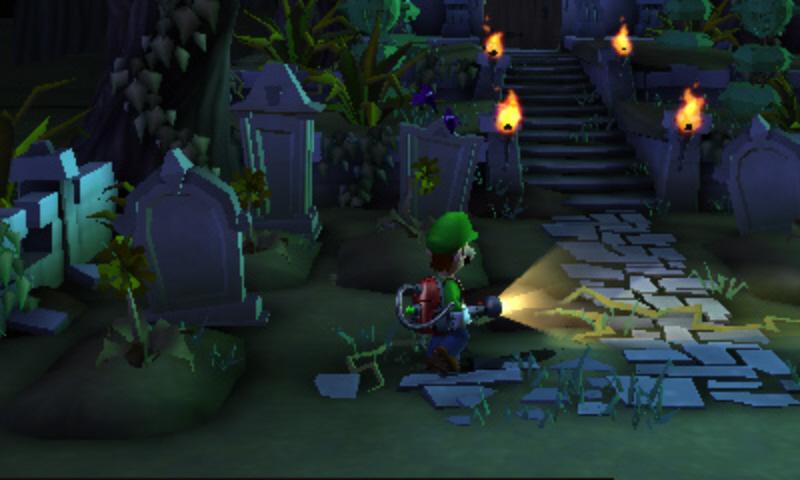 Luigi's Mansion: Dark Moon - Vysavač versus přízraci 80159