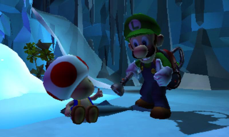 Luigi's Mansion: Dark Moon - Vysavač versus přízraci 80160