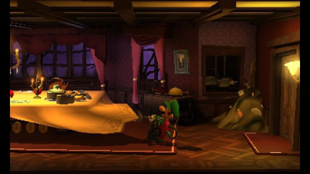 Luigi's Mansion: Dark Moon - Vysavač versus přízraci 80162