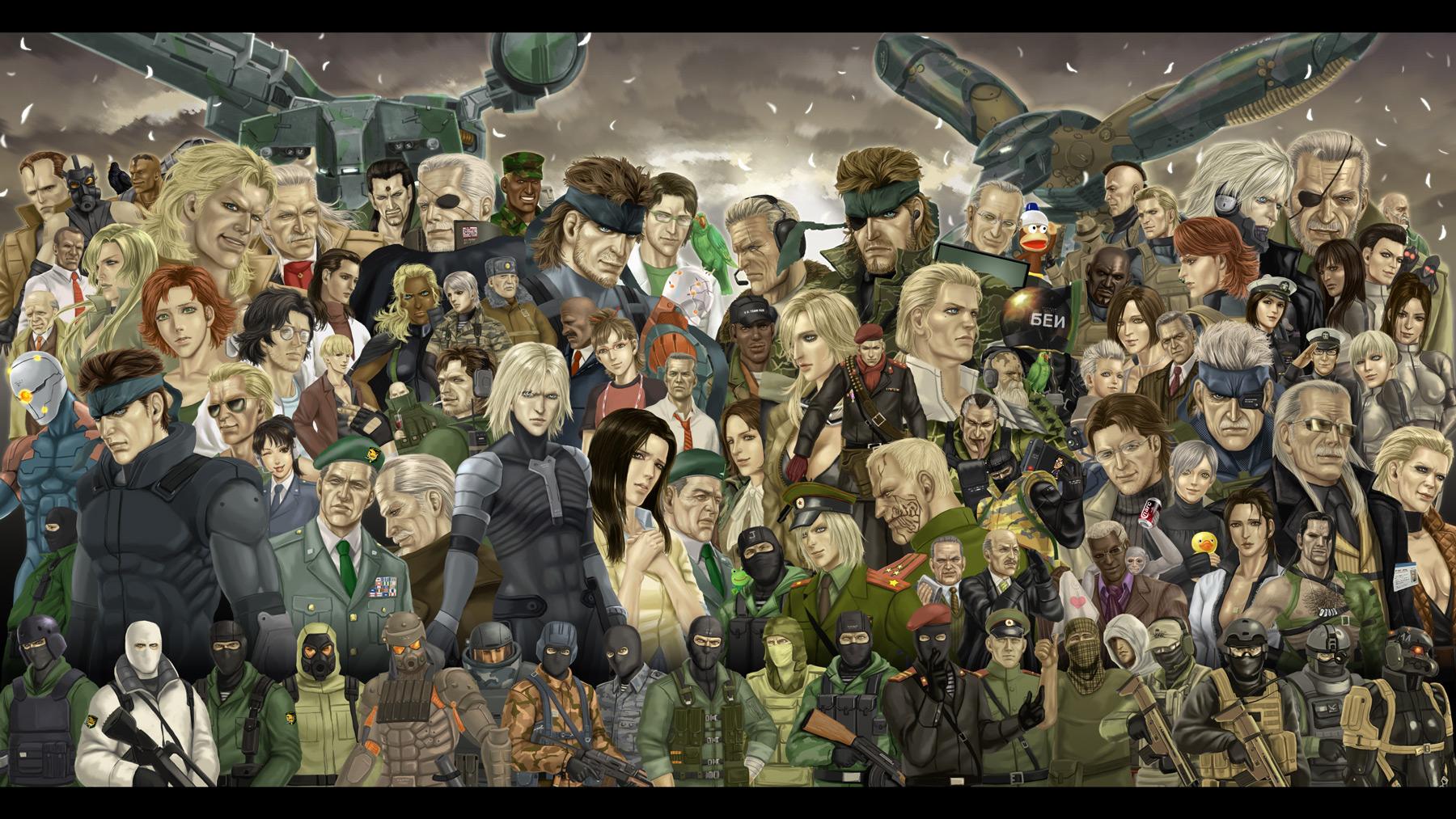 Potvrzena Metal Gear Solid: The Legacy kolekce 80287