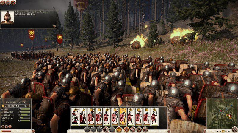 Obrázek s uživatelským rozhraním z Total War: Rome 2 80293