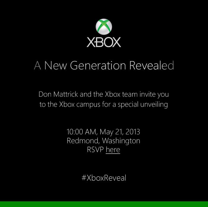 Potvrzeno: Microsoft odhalí nový Xbox 21. května 80351