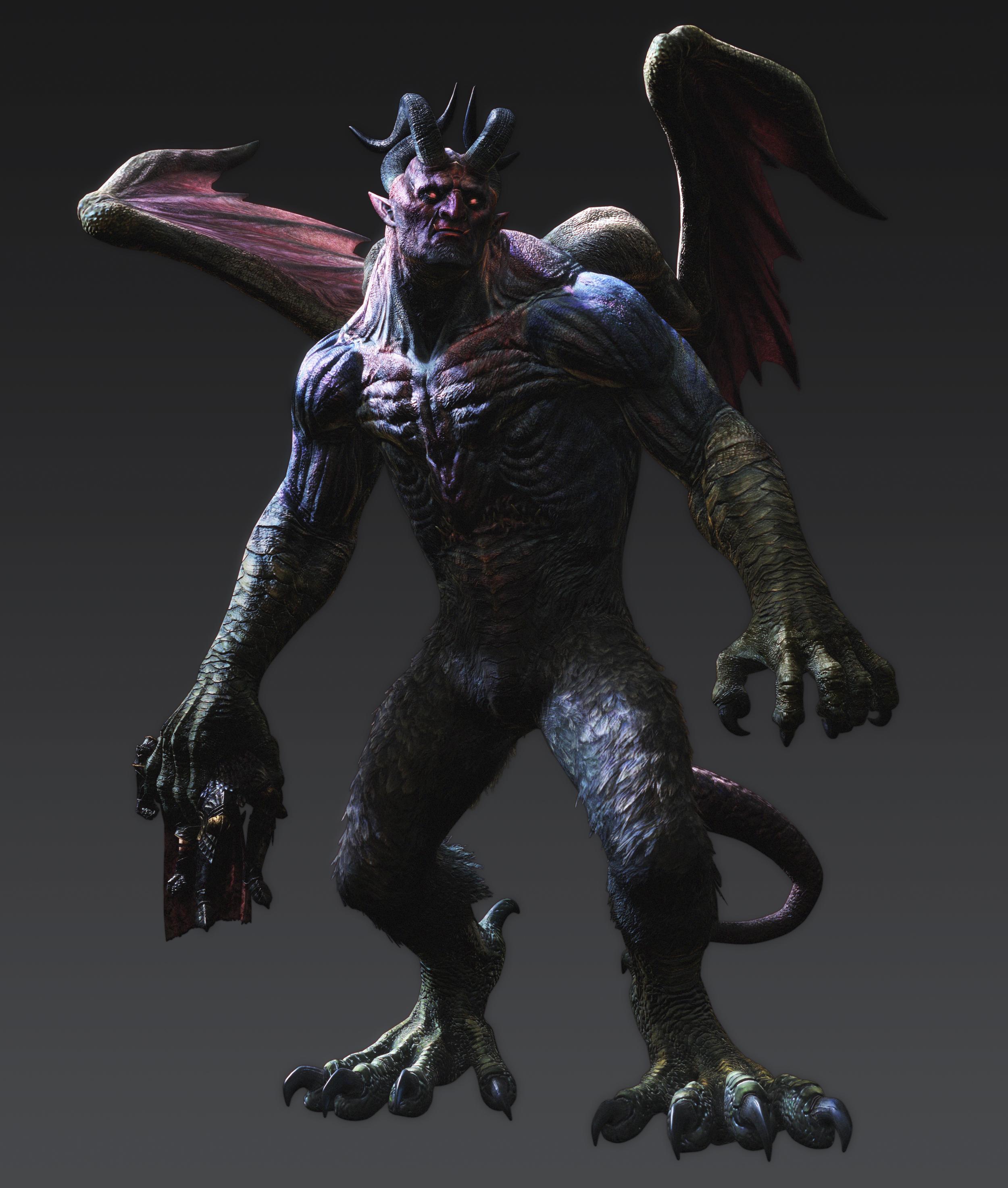 Artworky hrdinů a monster z Dragon's Dogma: Dark Arisen 80353