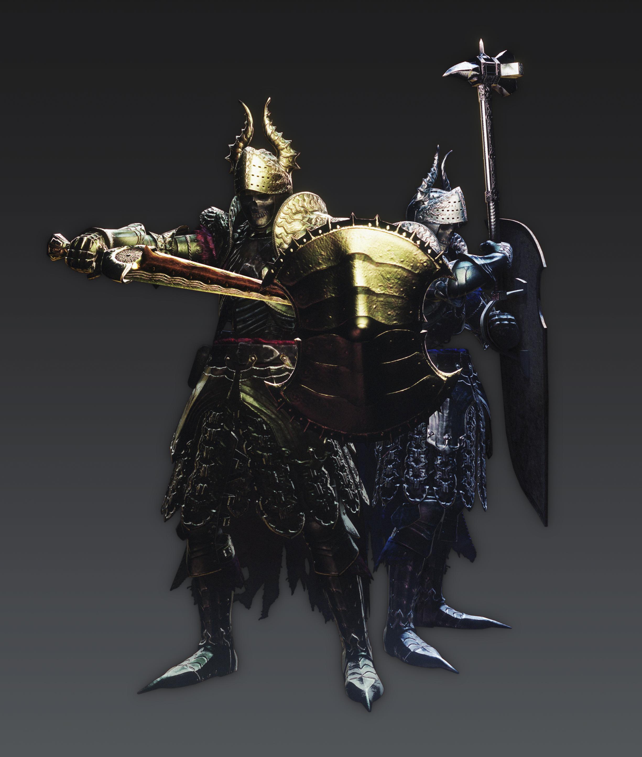 Artworky hrdinů a monster z Dragon's Dogma: Dark Arisen 80354