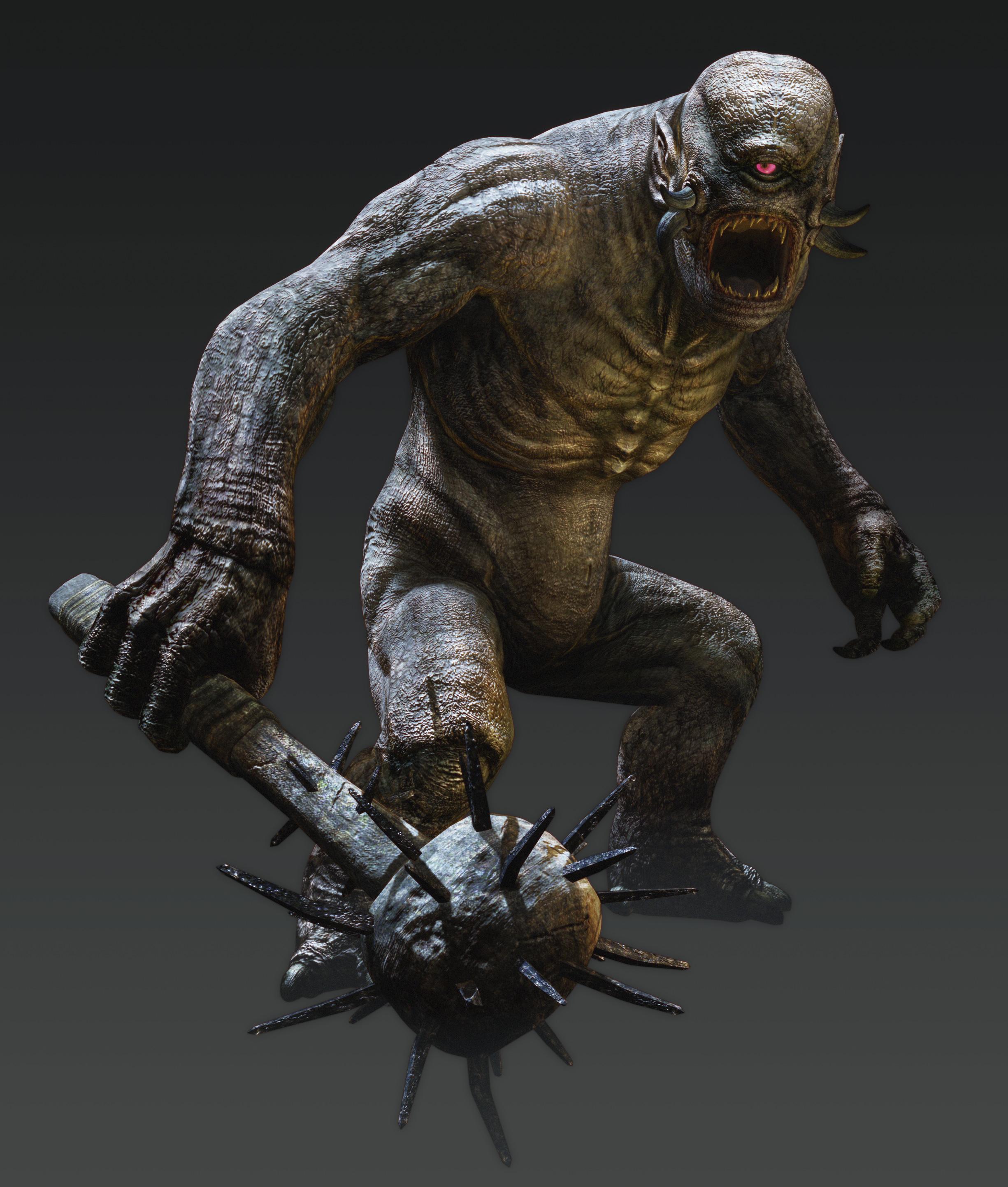Artworky hrdinů a monster z Dragon's Dogma: Dark Arisen 80355
