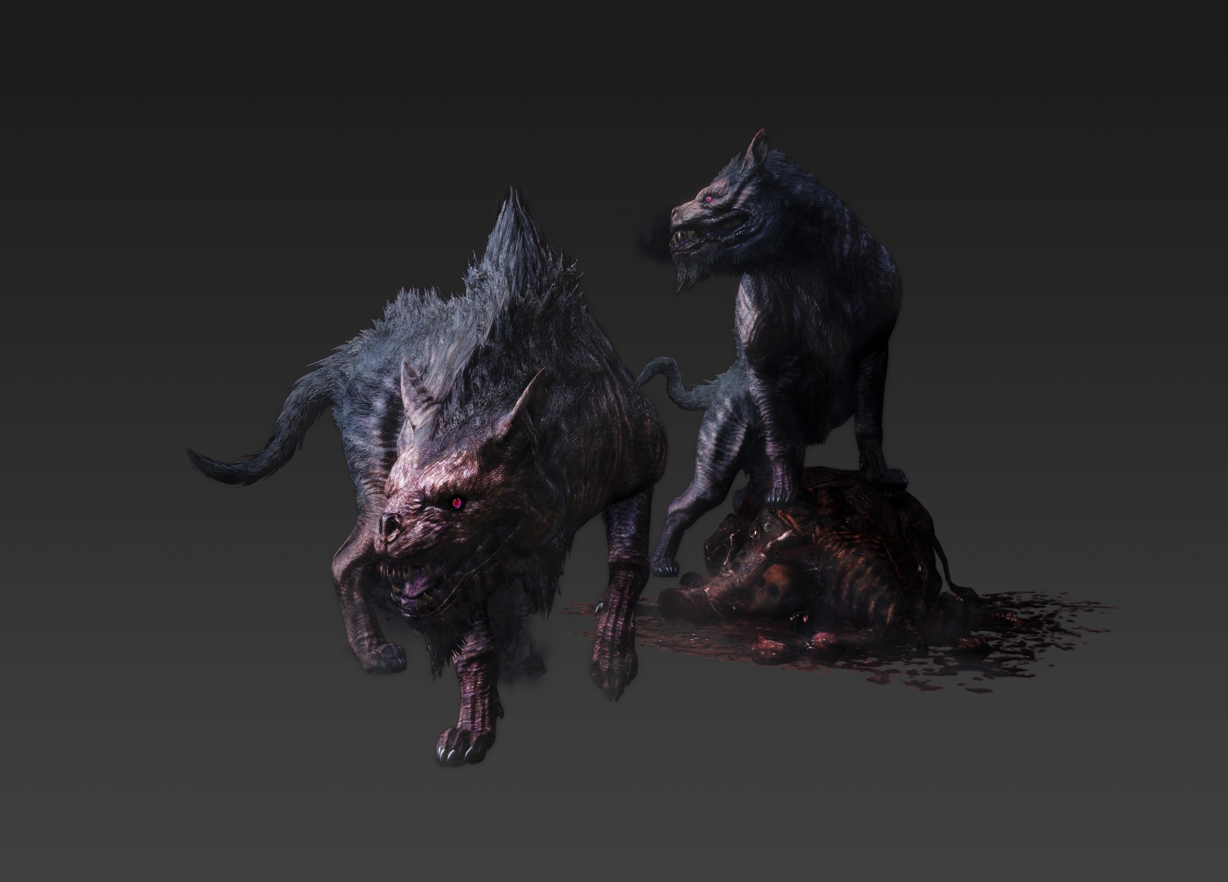 Artworky hrdinů a monster z Dragon's Dogma: Dark Arisen 80357