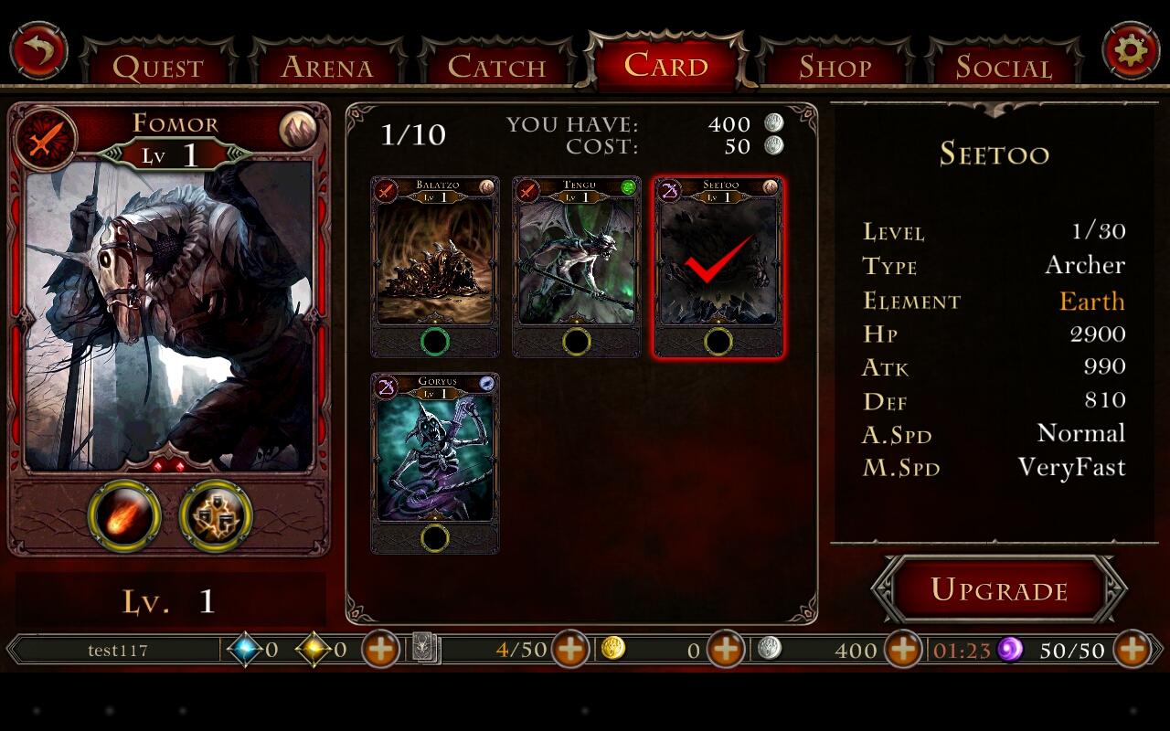 Hell Invaders - strategie se sběratelskými kartami 80461