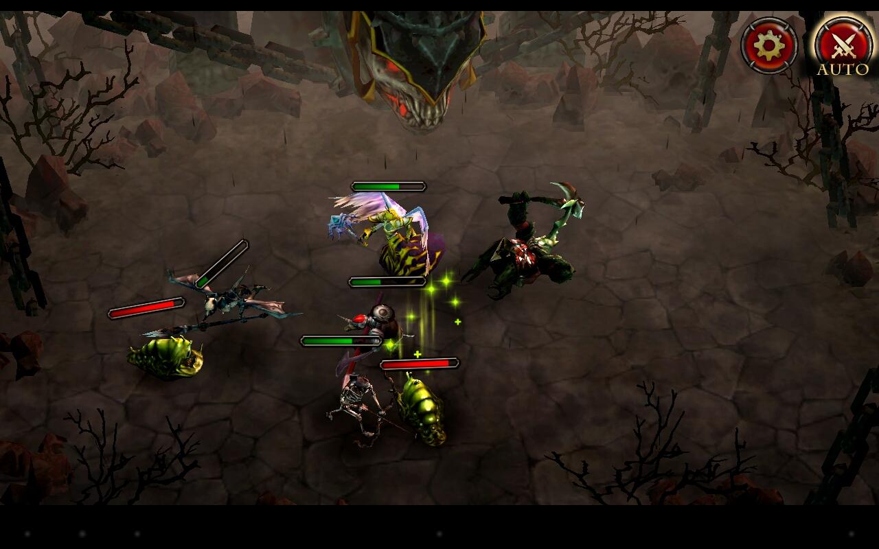 Hell Invaders - strategie se sběratelskými kartami 80462