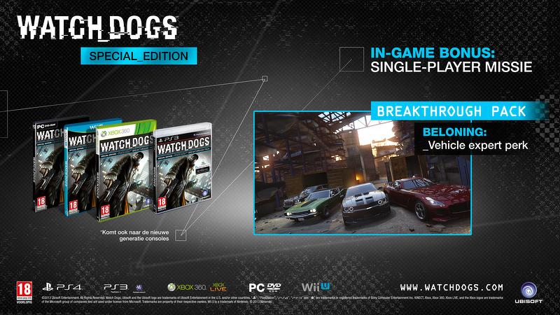 Předčasně odhalena speciální edice Watch_Dogs 80506