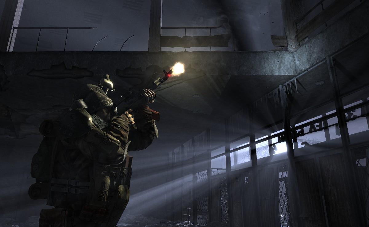 Metro 2033 – s baterkou v tunelech 814