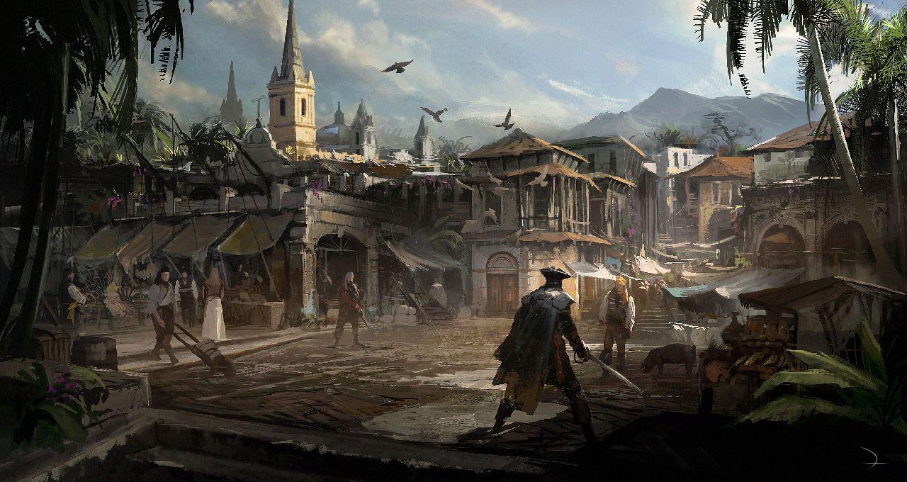 Obrázek a artworky z Assassin's Creed IV 81444
