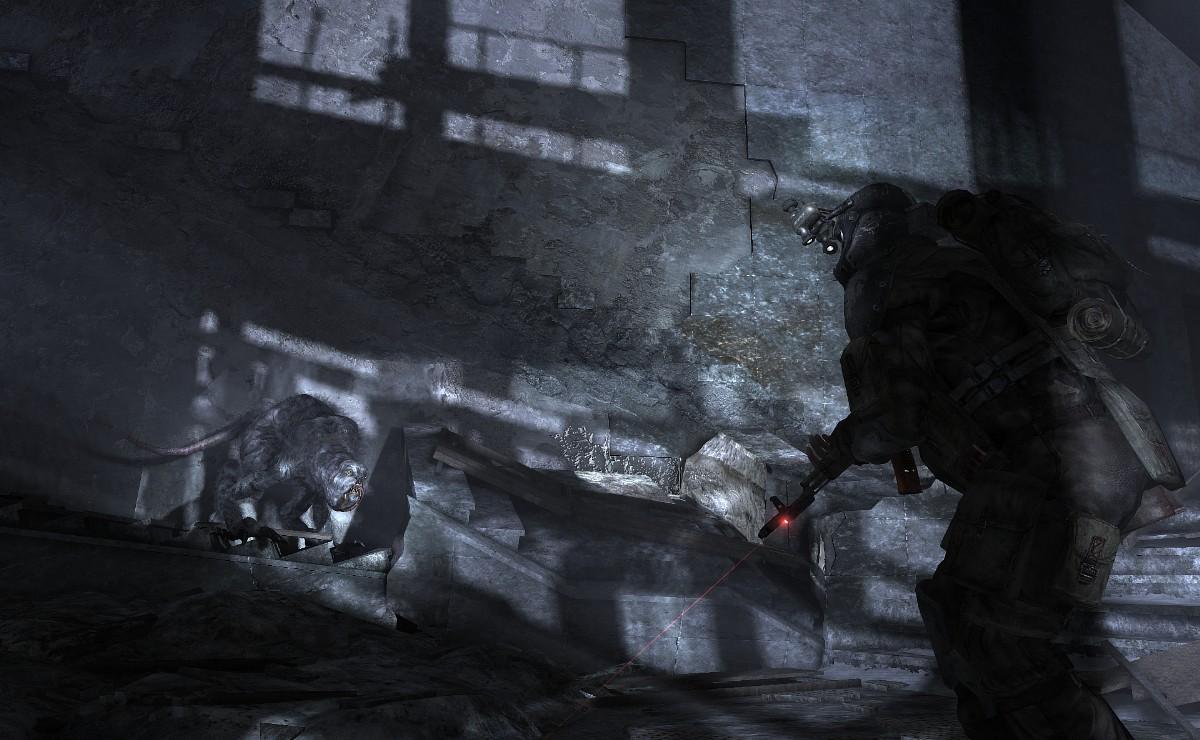 Metro 2033 – s baterkou v tunelech 818