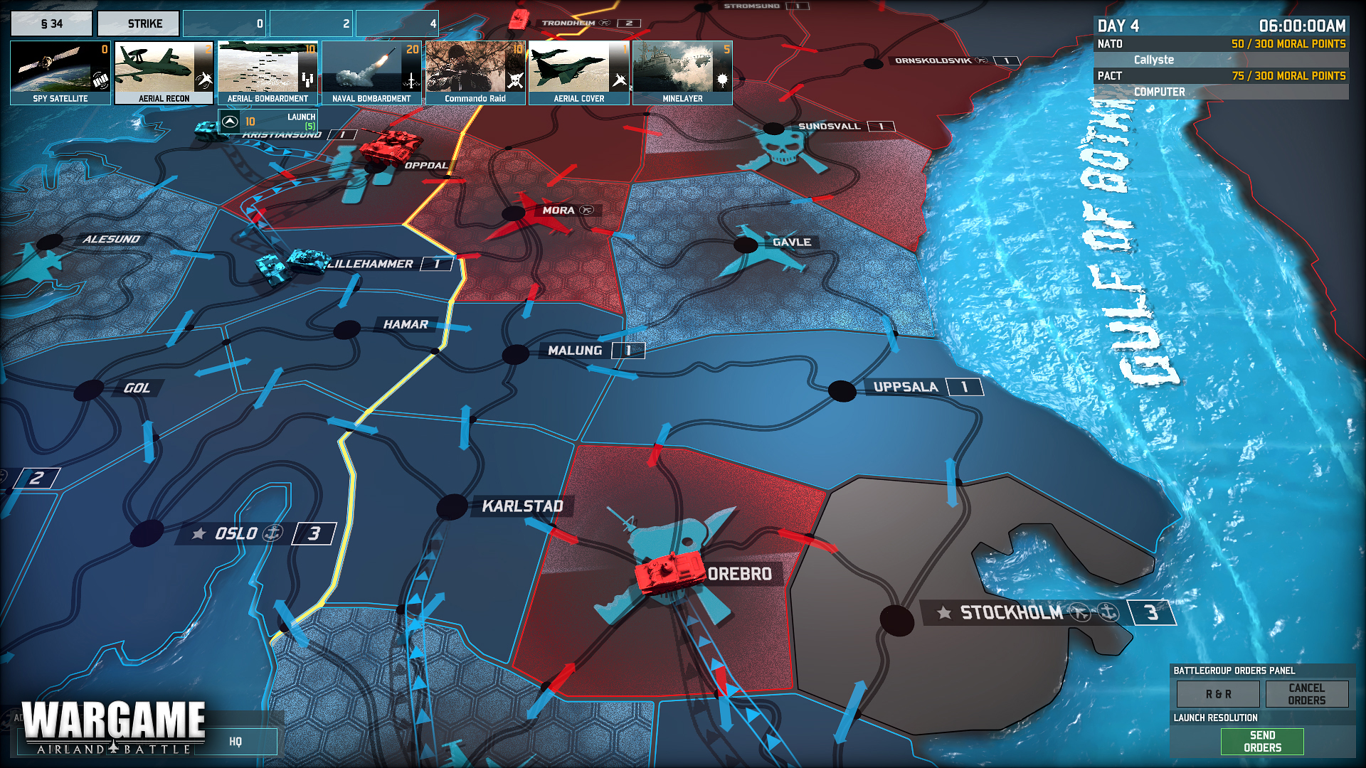 Strategie Wargame: Airland Battle odhalila kampaň 81920
