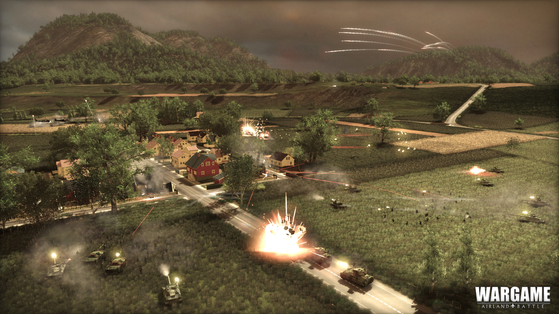 Strategie Wargame: Airland Battle odhalila kampaň 81922