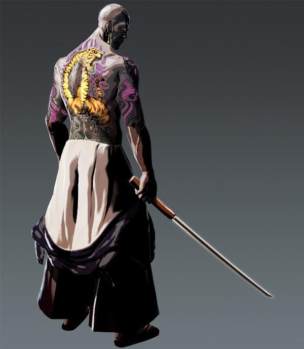 Nové obrázky a artworky z Killer is Dead 82125
