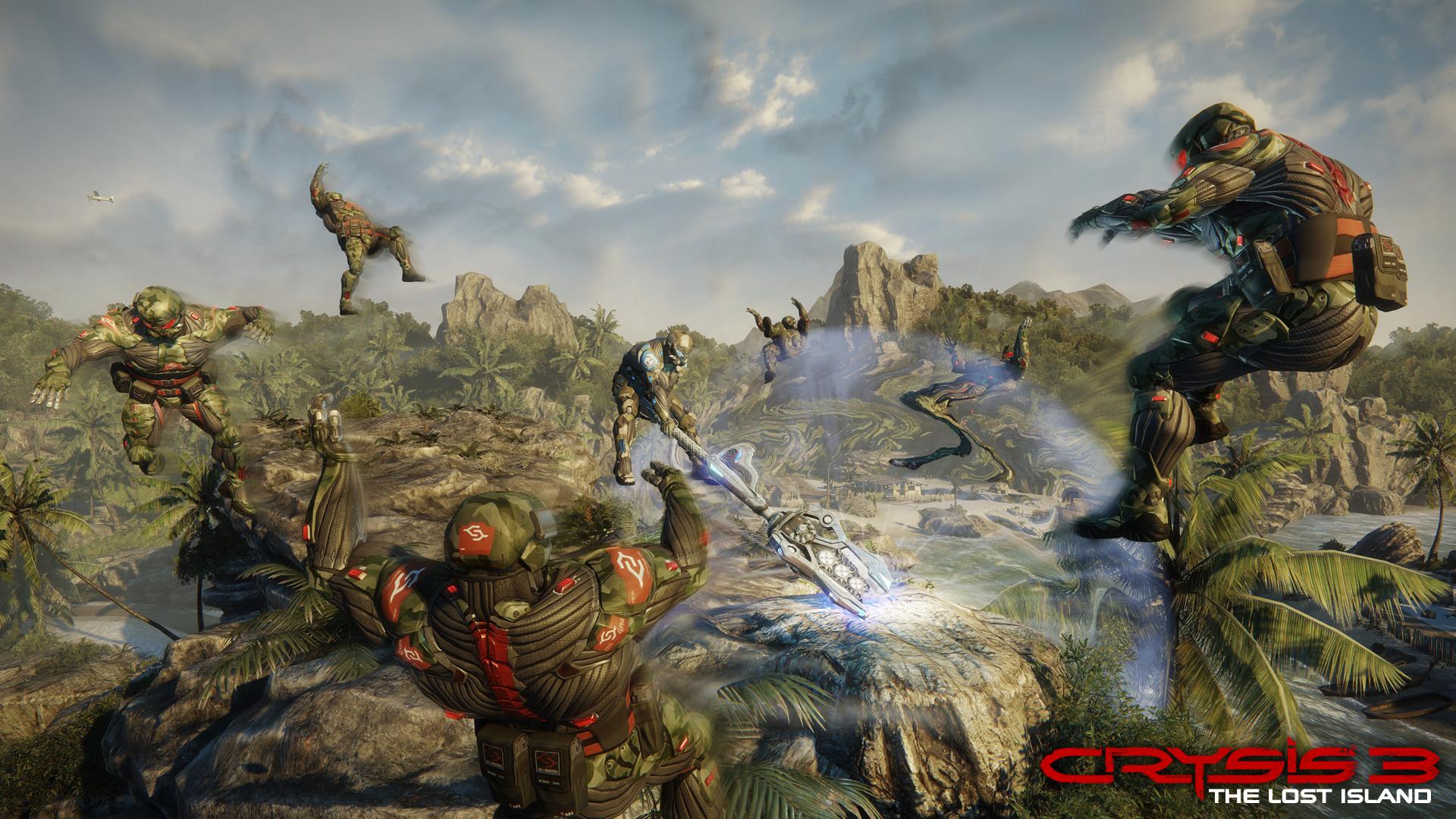 Multiplayer Crysis 3 se přesune na Ztracený ostrov 82523