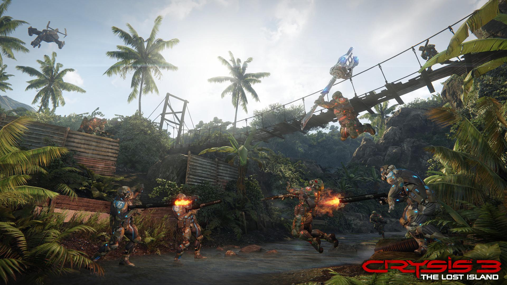 Multiplayer Crysis 3 se přesune na Ztracený ostrov 82525