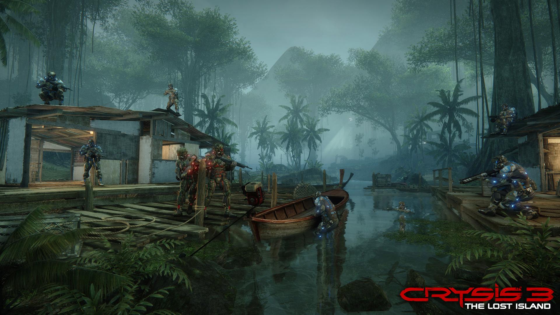 Multiplayer Crysis 3 se přesune na Ztracený ostrov 82526