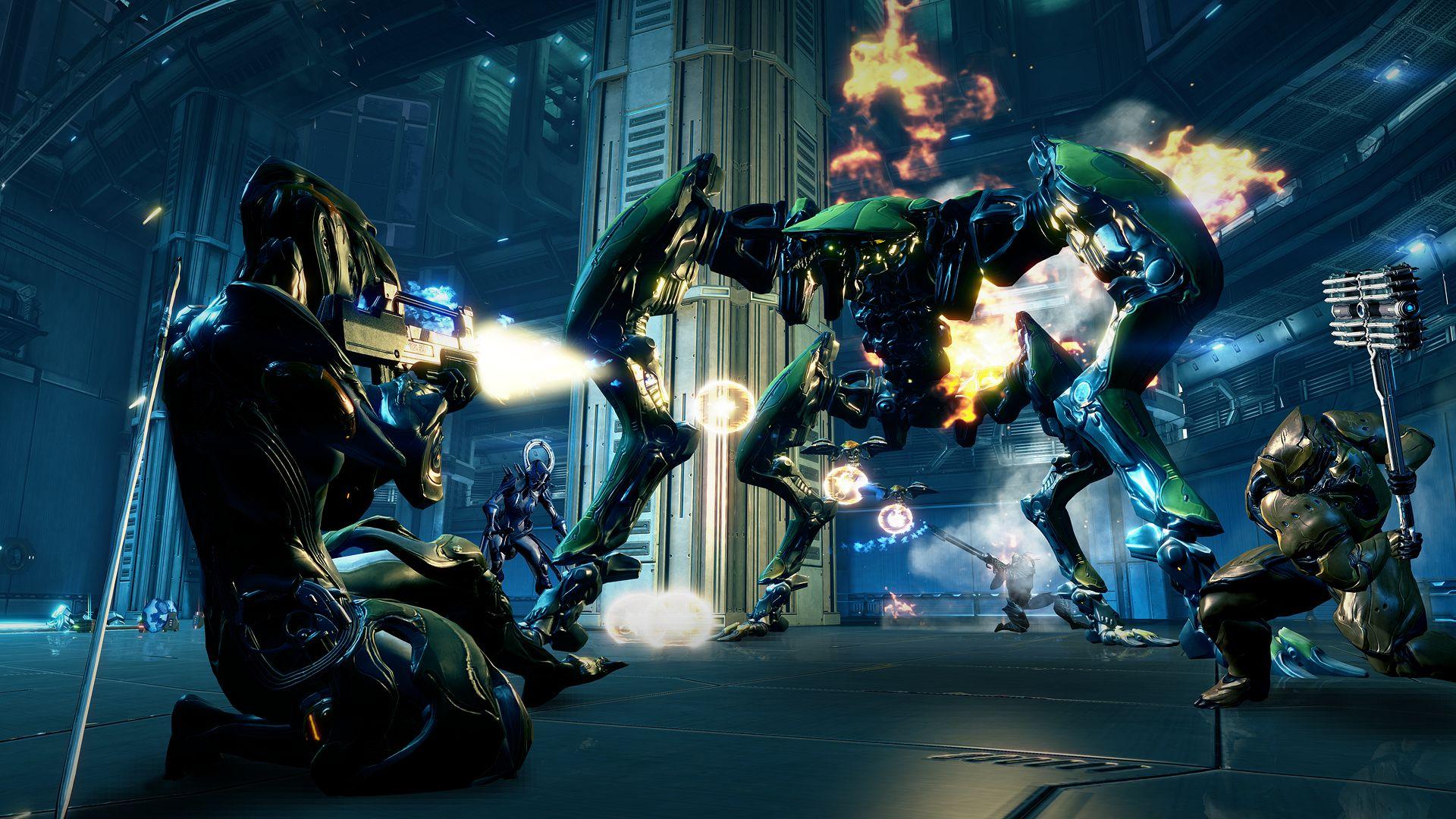 Ještě trailer pro PS4 verzi Warframe 82855