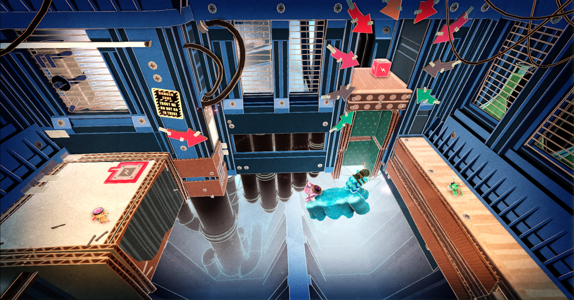 Další exkluzivita pro PS4 se jmenuje Tiny Brains 82865