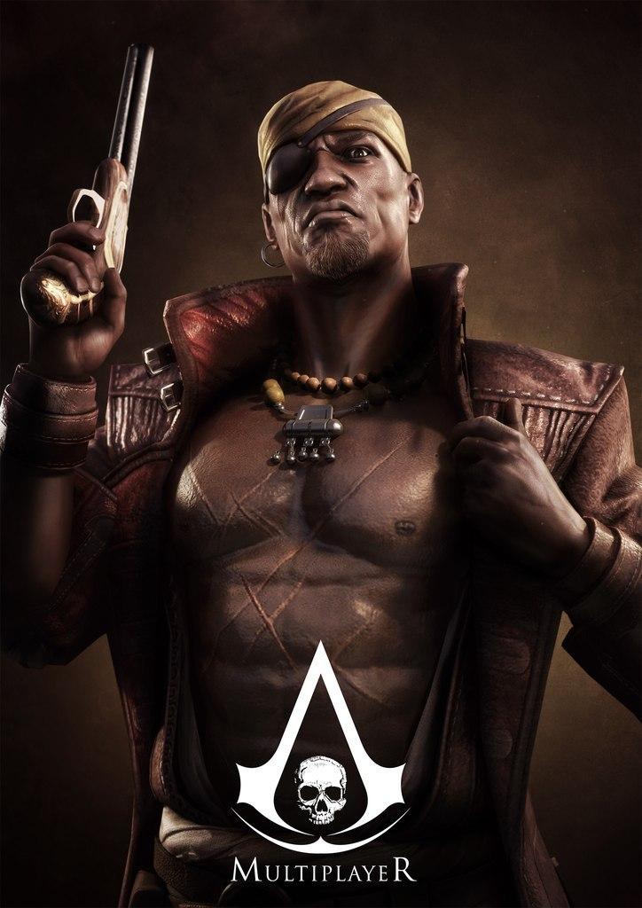 Obrázky a artworky z multiplayeru Assassin's Creed IV 82995