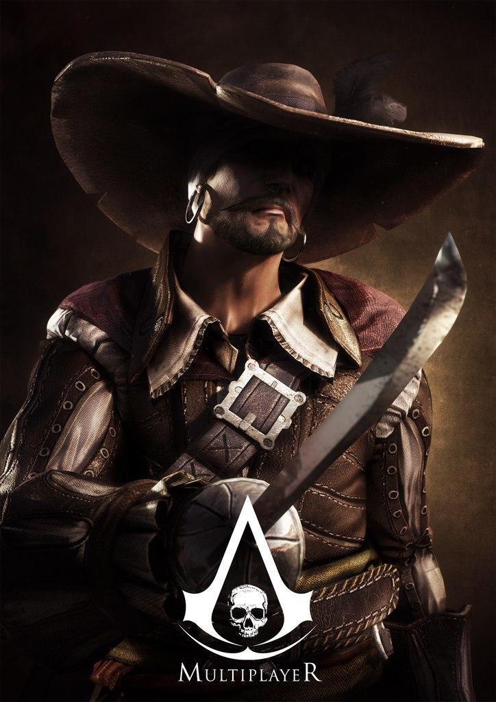 Obrázky a artworky z multiplayeru Assassin's Creed IV 82996
