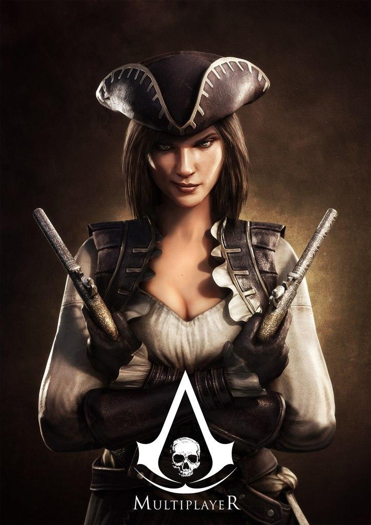 Obrázky a artworky z multiplayeru Assassin's Creed IV 82997