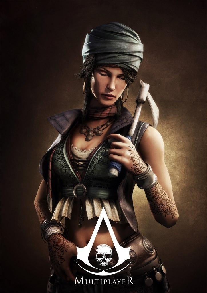 Obrázky a artworky z multiplayeru Assassin's Creed IV 82998