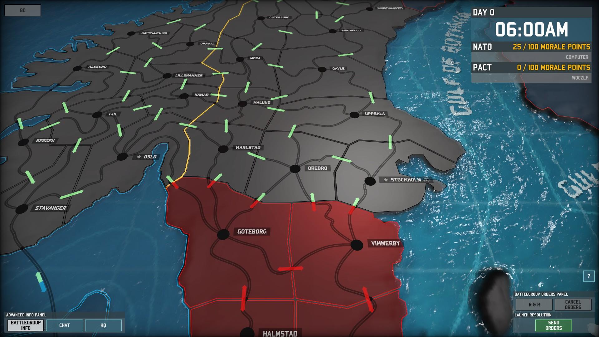 Wargame: AirLand Battle - na zemi i ve vzduchu 83972