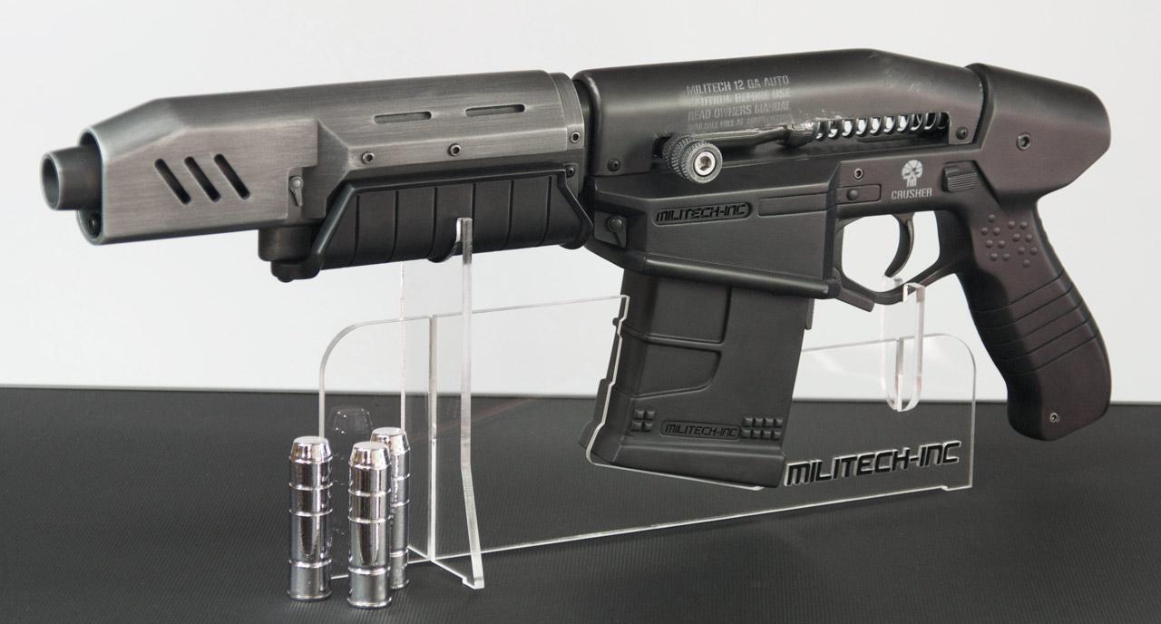 Replika zbraně z traileru Cyberpunk 2077 84277