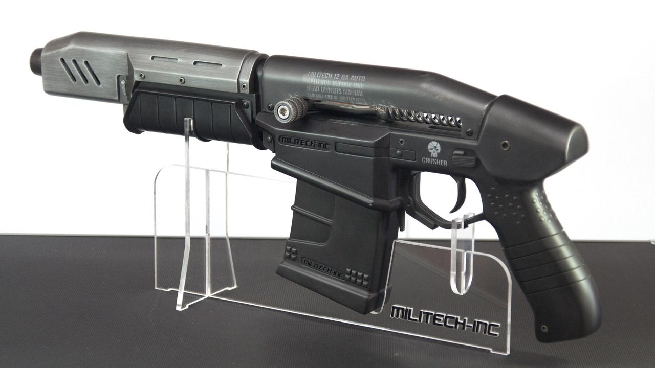 Replika zbraně z traileru Cyberpunk 2077 84280
