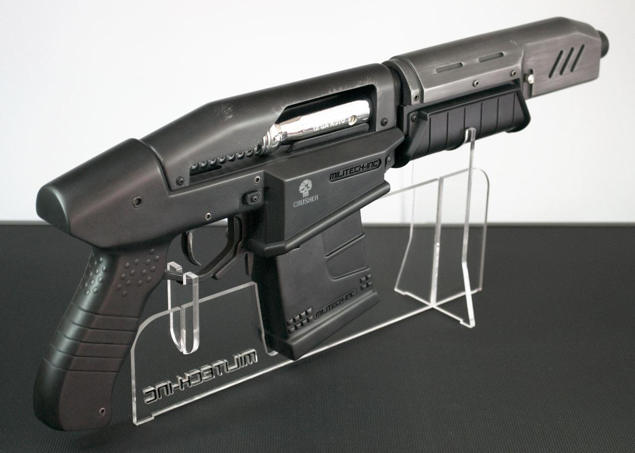 Replika zbraně z traileru Cyberpunk 2077 84282